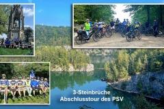 3-Steinbrüche Abschlusstour des PSV + 7 Gästen