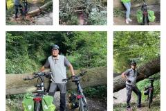 Grüße von Kai Peters von der STADTRADELN-Hindernis-Tour durchs Angerbachtal.