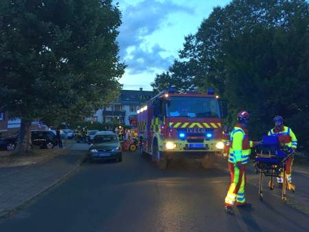 Feuerwehreinsatz Moselstraße Mettmann