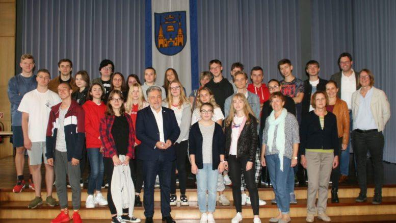 Polnische Austauschschüler