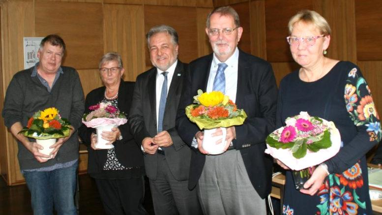 Ehrung Ratsmitglieder