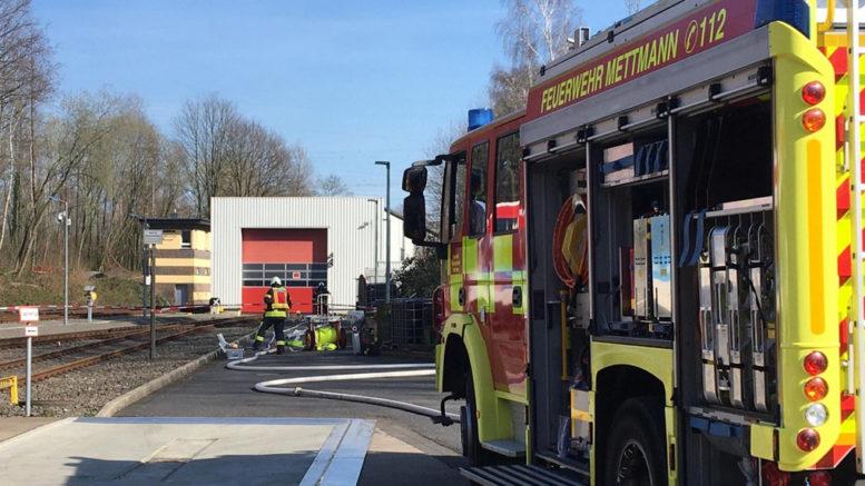 Feuerwehreinsatz Regiobahn