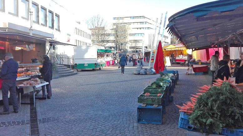 Wochenmarkt Mettmann