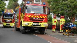 Feuerwehreinsatz Herrenhauser Straße