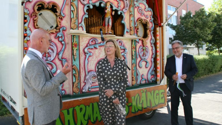 """Kirmes-Orgel im Senioren-Park """"carpe diem2"""