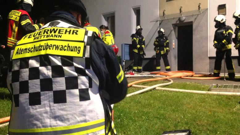 Feuerwehreinsatz Sudhoffstraße