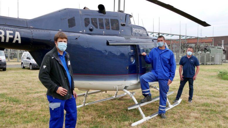 Hubschrauber Westnetz