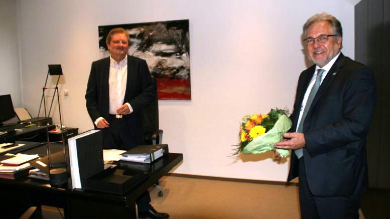 Verabschiedung Bernd Huckels