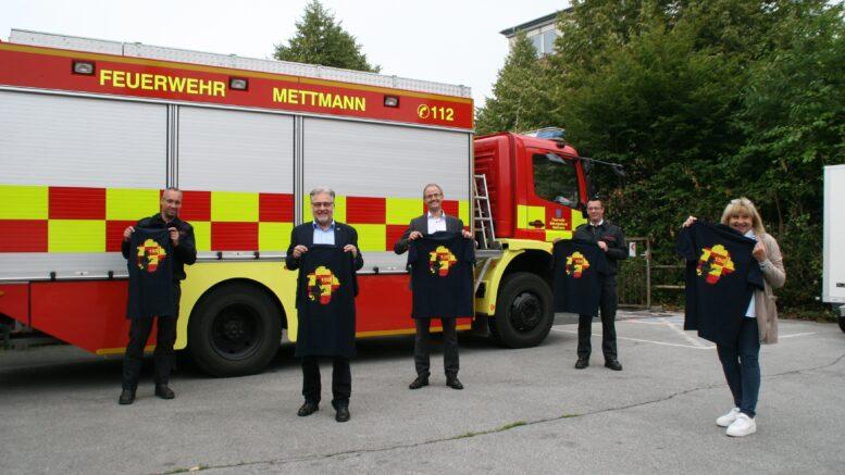 Feuerwehr-Jubiläums-Poloshirts