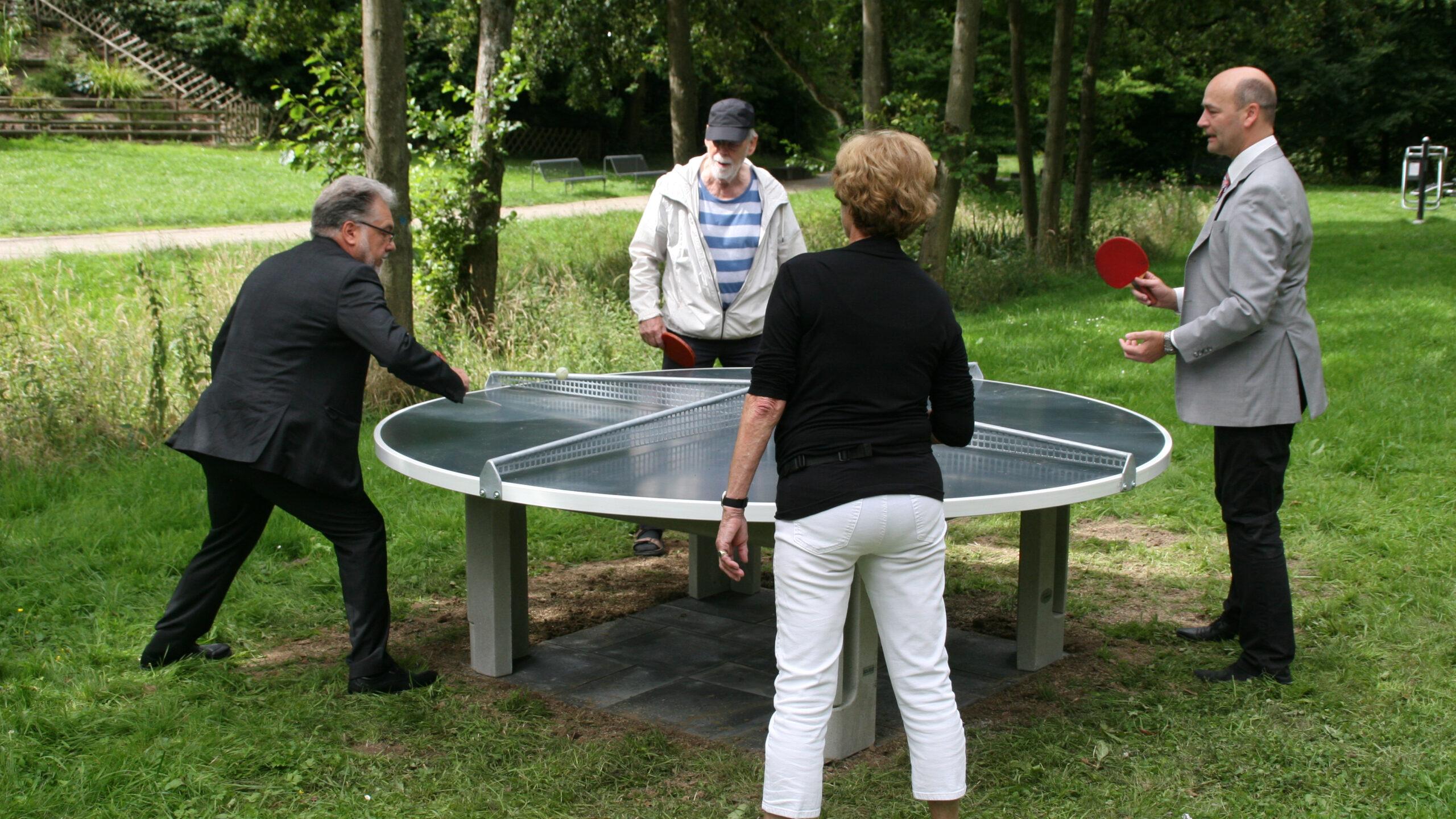 Combergpark Metzkausen Tischtennisplatte