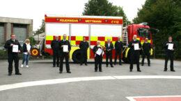 Feuerwehr Beförderungen