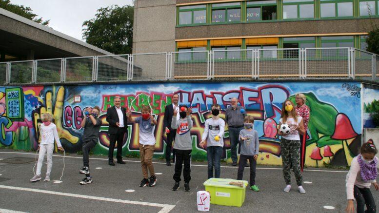 Bewegungsbox Grundschule Herrenhauser Straße