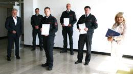 Beförderungen Feuerwehr Mettmann