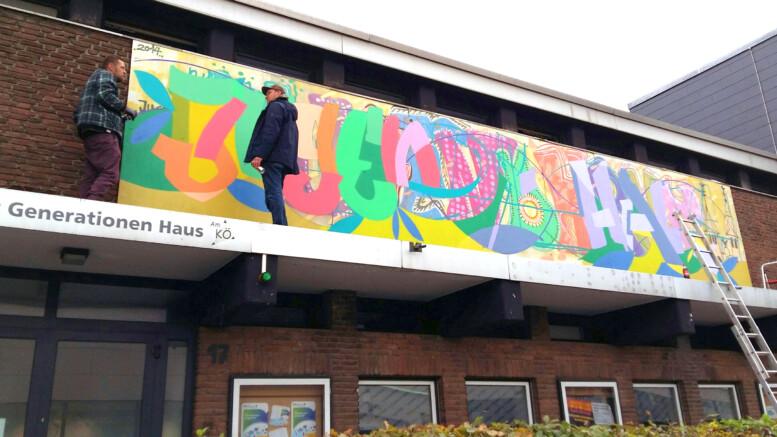Nacht der Jugendkultur Grafitti
