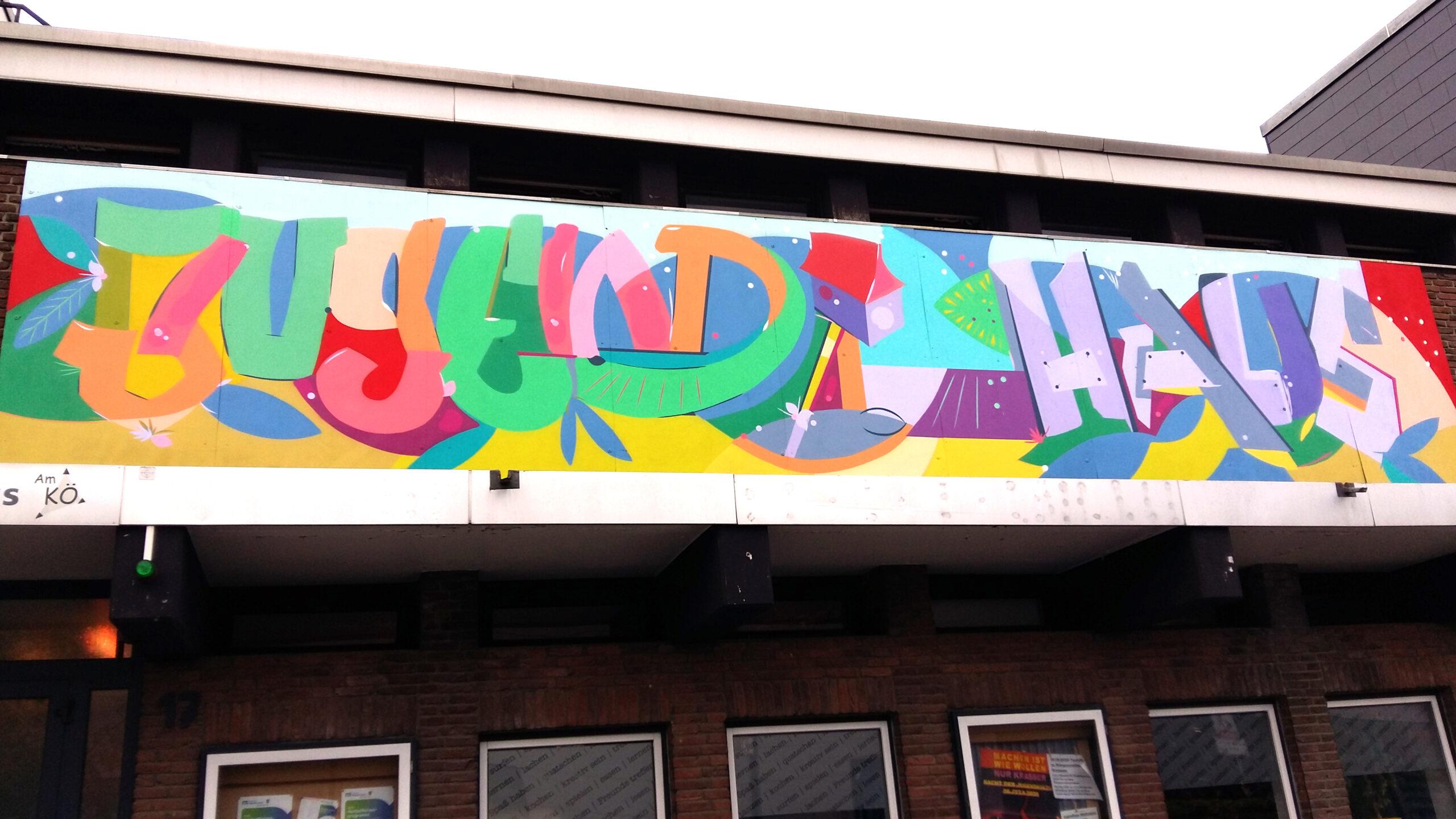 Jugendhaus Mettmann Graffiti