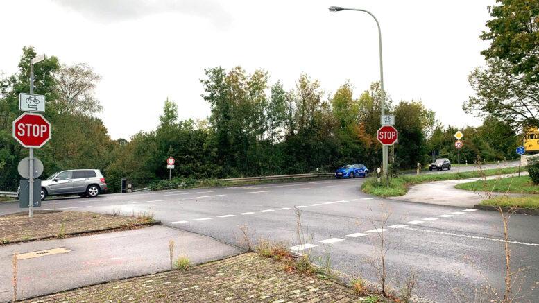 Kreuzung Rudolf-Diesel-Straße zur B7