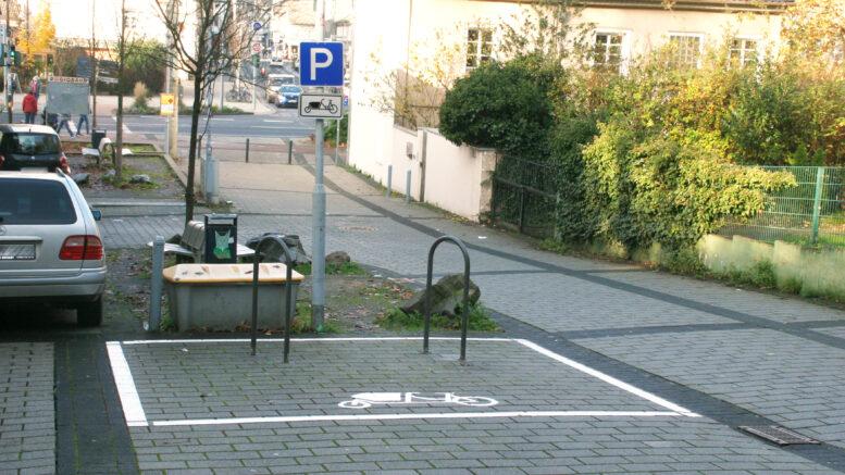 Stellplatz für Lastenfahrräder