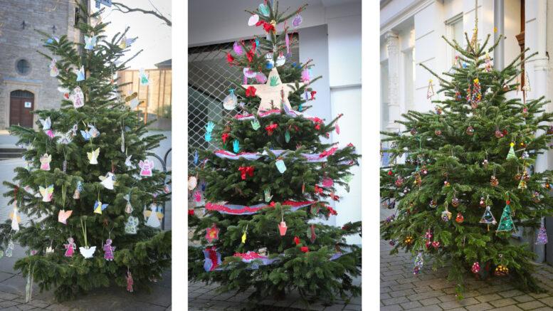 Weihnachtsbaum-Schmuckwettbewerb Gewinner
