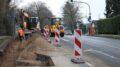 Baustelle Peckhauser / Spessartstraße