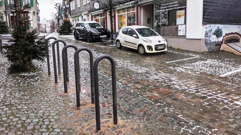 Fahrradbügel Oberstraße Mettmann