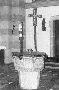 St. Lambertus Mettmann Taufstein