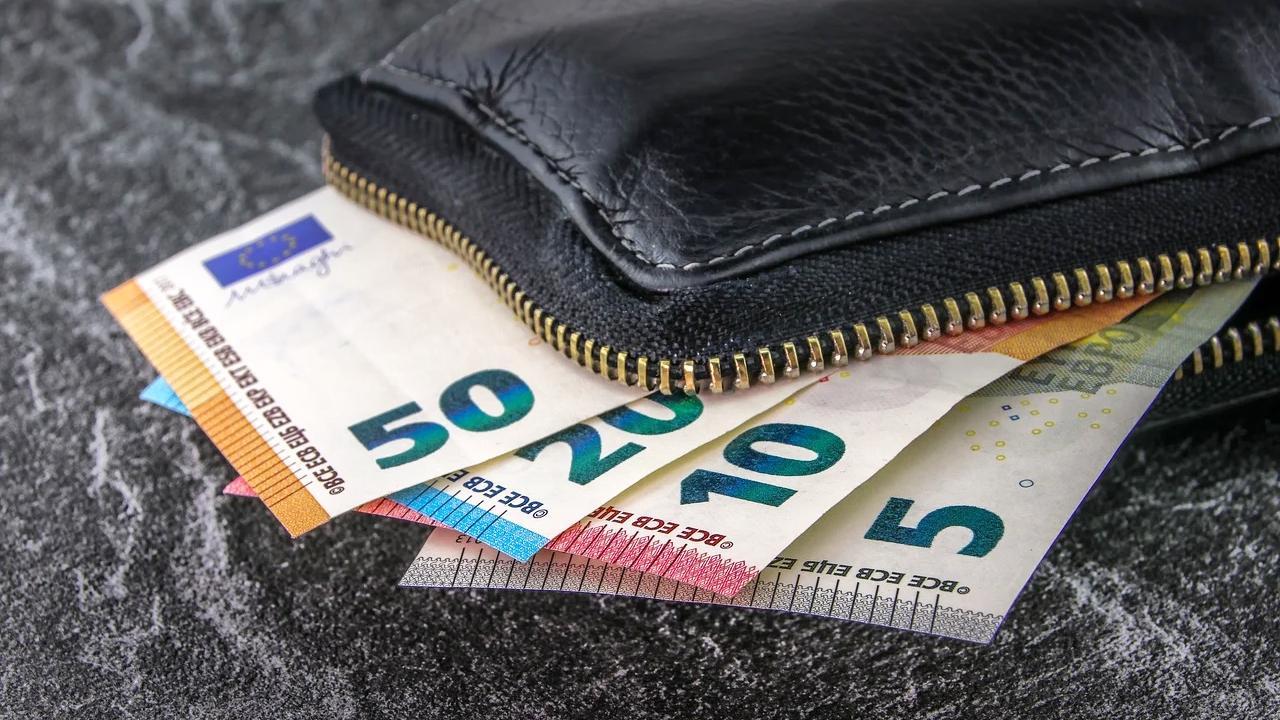 Bargeld Geldbörse