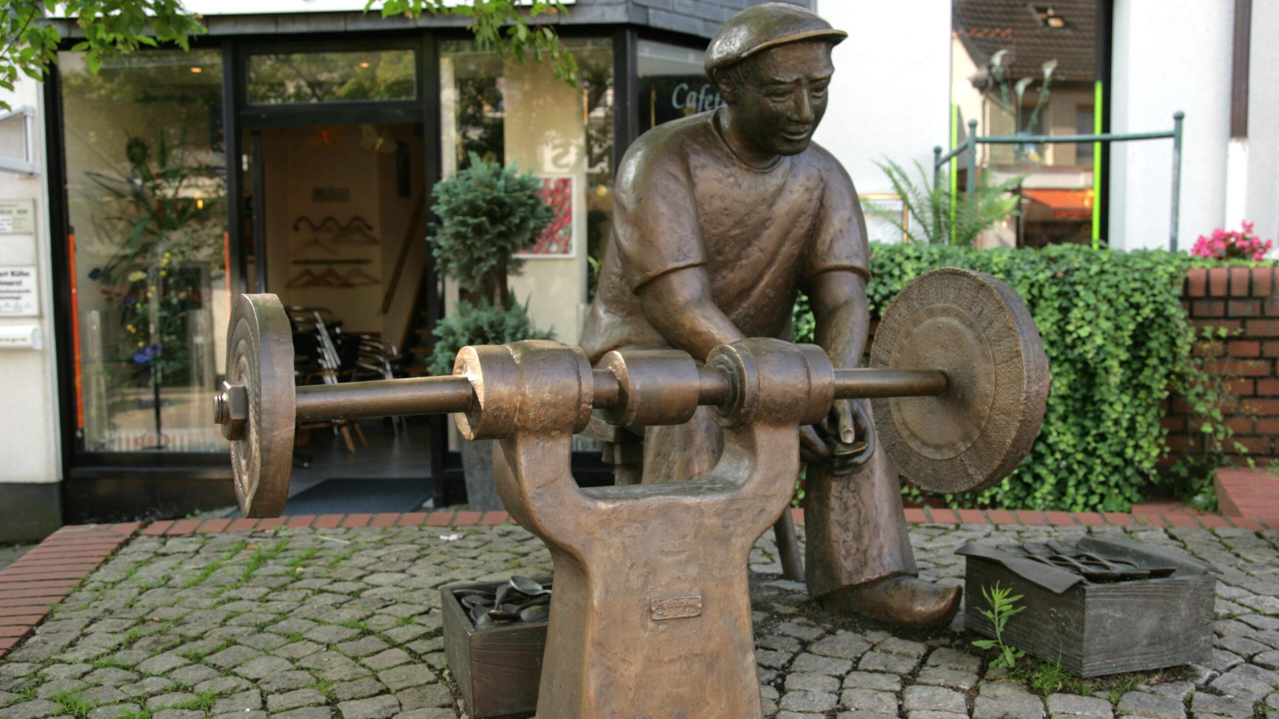 Mettmann Löffelschleifer Bronze