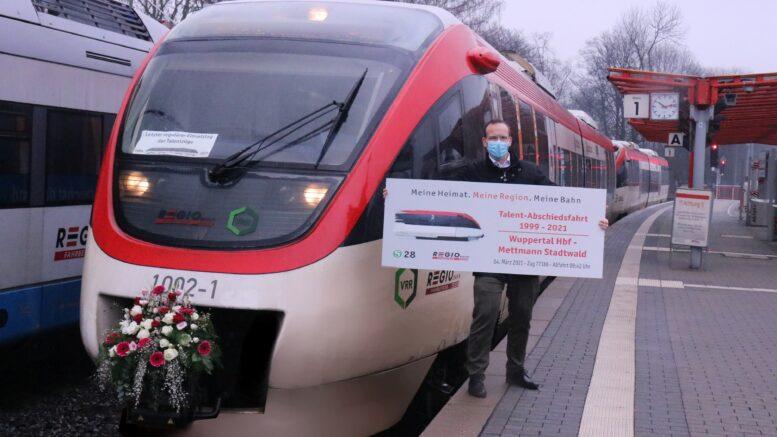 Abschied vom letzten Talent-Fahrzeug der Regiobahn