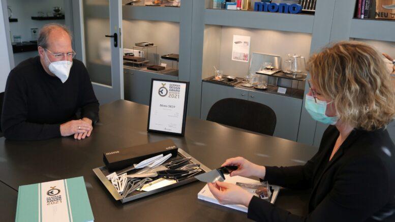Bürgermeisterin Pietschmann zu Gast bei Mono