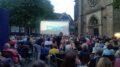 Open-Air-Kino auf dem Marktplatz