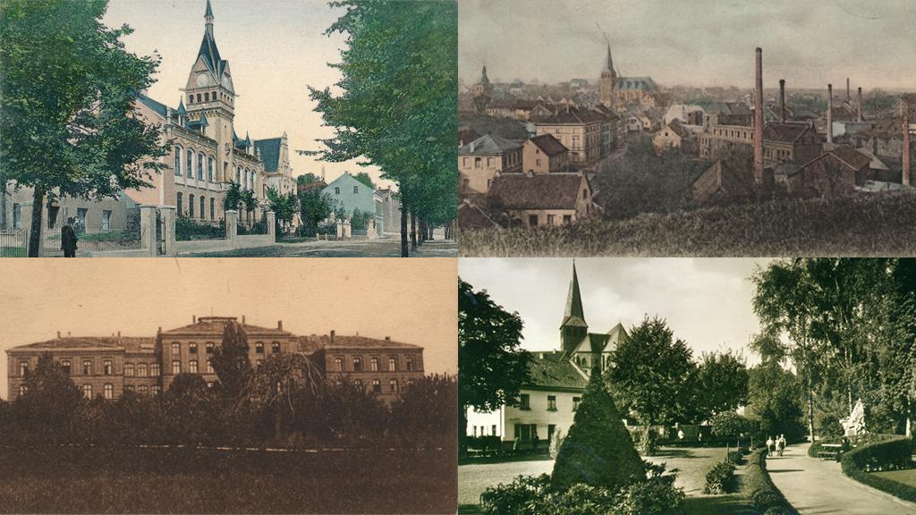 Historische Postkarten aus dem Mettmanner Stadtarchiv
