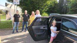Einwiehung der Elternhaltestelle für die Astrid-Lindgren-Schule