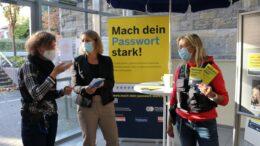 Kripobeamtinnen in Gespräch mit Bürgermeisterin Sandra Pietschmann